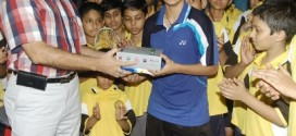 BBA Felicitated India No. 1 Shuttler Rituparna