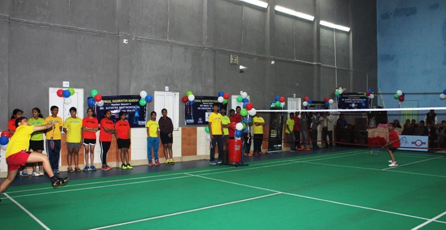 Inauguration  of Upgraded Badminton Hall at Ordnance Club