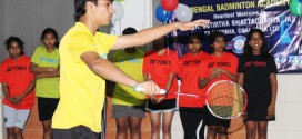BBA shuttler Romit Ray in Junior Bengal Team