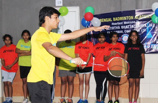 BBA player Romit Ray selected in Junior West Bengal team for forthcoming East Zone Inter State Badminton championships September 2018