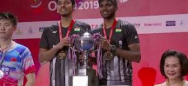 Thailand Open champions Satwiksairaj Rankireddy and Chirag Shetty