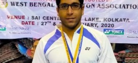 Bengal Badminton Academy  and North Calcutta Badminton Association player   Rajdeep Mitra won Gold Medal in Badminton Men's Singles in prestigious  Netaji Subhas State games at SAI ,  Kolkata .